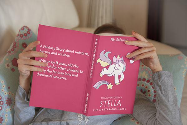 unicorns, fantasy, children book, mia salaqmeh